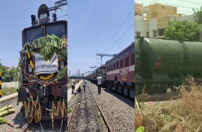 Train carrying 2.5 million litres of water reaches Chennai