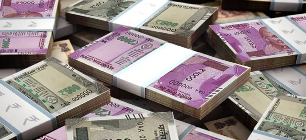 At the Interbank Foreign Exchange, the rupee opened at 68.48 then fell to 68.54 against the US dollar