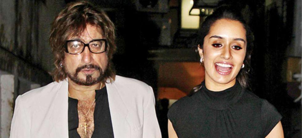 Shakti Kapoor with daughter Shraddha Kapoor.