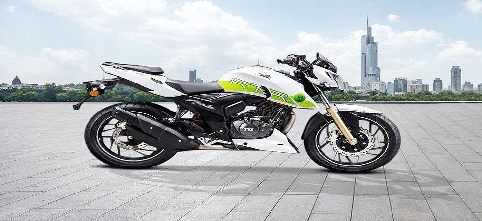 TVS Motor Company launches ethanol-powered bike (Image Credit: Twitter)