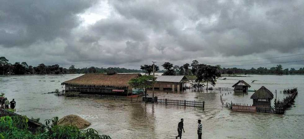 Assam government have activated 24x7 flood control rooms across all the affected districts. (PTI Photo)
