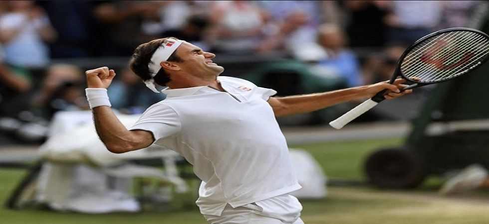 Roger Federer will be aiming to win an unprecedented ninth men's Wimbledon title when he faces Novak Djokovic in the final. (Image credit: Twitter)