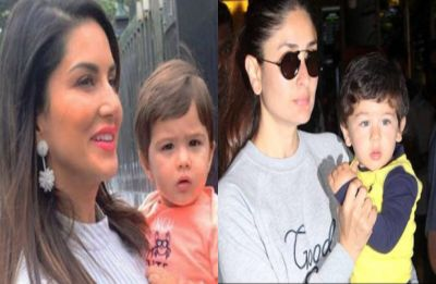Sunny Leone's son will remind you of Taimur Ali Khan, don't believe us? Check these pics
