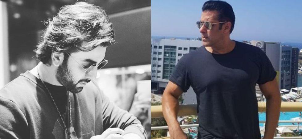 Ranbir Kapoor and Salman Khan.