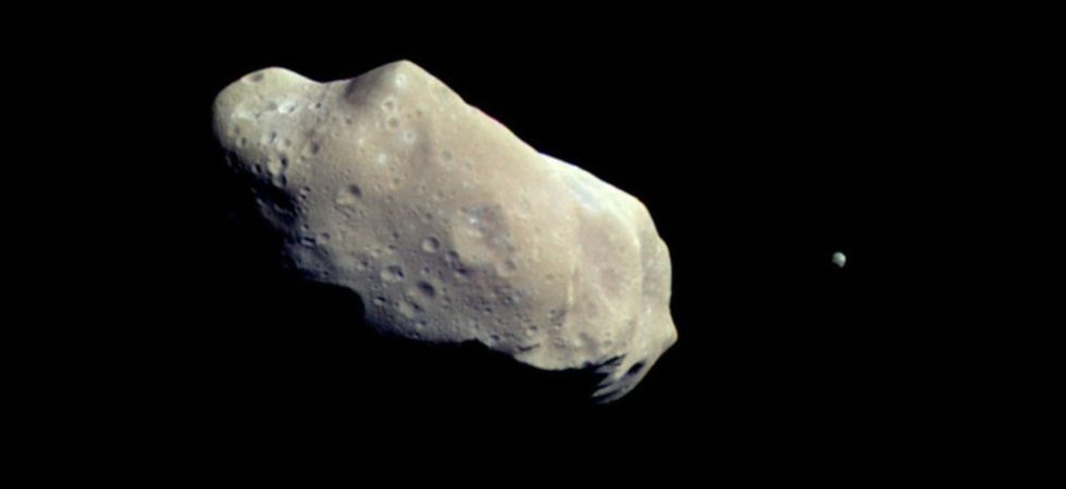 Asteroid Apophis (Photo Credit: Twitter)
