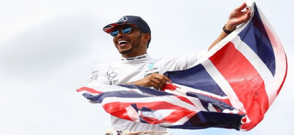 Lewis Hamilton has now won the most British Grand Prix by a driver after he won it for the sixth time in Silverstone. (Image credit: Twitter)