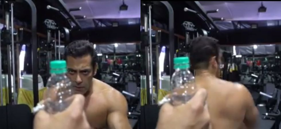 Salman Khan nails bottle cap challenge like no one else. (Image: Instagram)