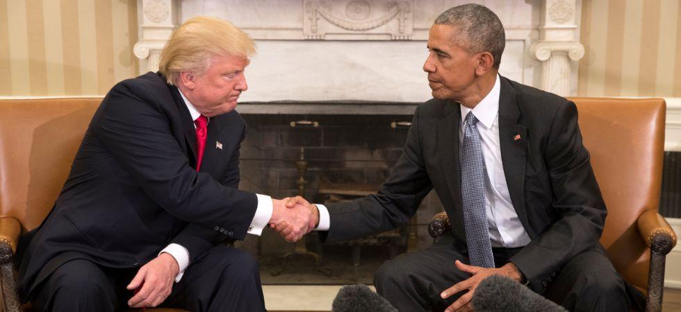 Trump Vs Obama (Photo Credit: Twitter)