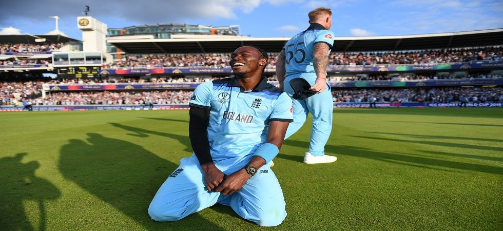Jofra Archer bowled the super over against New Zealand in the ICC Cricket World Cup 2019 final at Lord's as England were crowned world champions. (Image credit: Getty Images)