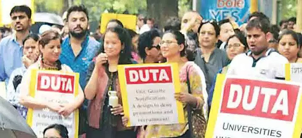On Monday, the DUTA will hold a protest at the university and on Tuesday, they will hold a demonstration at the UGC complex. (File Photo)