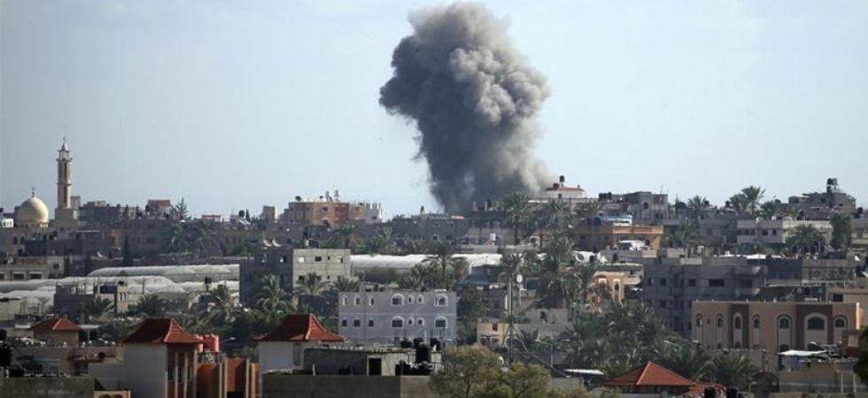 Syria Rocket Attack (Photo Credit: Twitter)