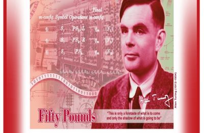 Alan Turing, WW-II code-breaker castrated for being gay, to feature in new 50 pound note