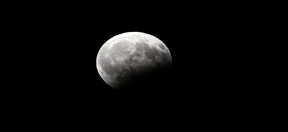 Partial lunar eclipse takes place only at full Moon night, when the Moon, the Sun and the Earth are in a perfect straight line