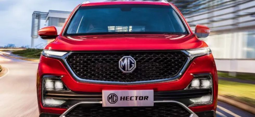 MG Hector SUV delivery (File Photo)