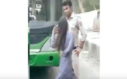 In DTC bus, girl dance to 'teri aakhya ka yo kajal' for