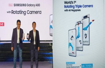 Samsung Galaxy A80 launched in India at Rs 47,990: Specifications, launch offers inside