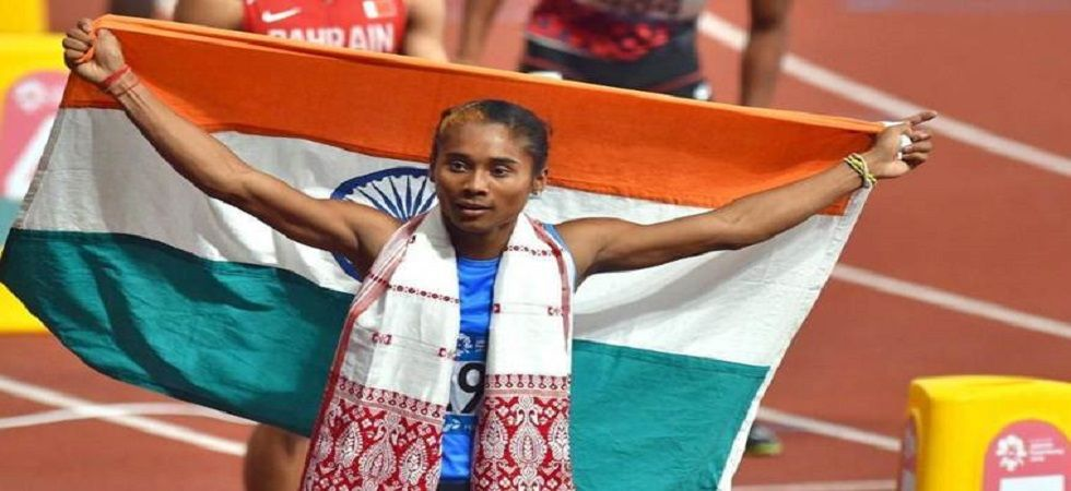 Hima Das claimed her fifth gold of the month as she returned to her pet 400m competition with a season-best time of 52.09s, in Nove Mesto on Saturday. (File)