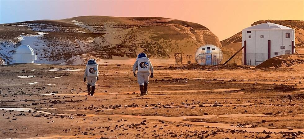 People have long dreamed of re-shaping the Martian climate to make it livable for humans. (File Photo)