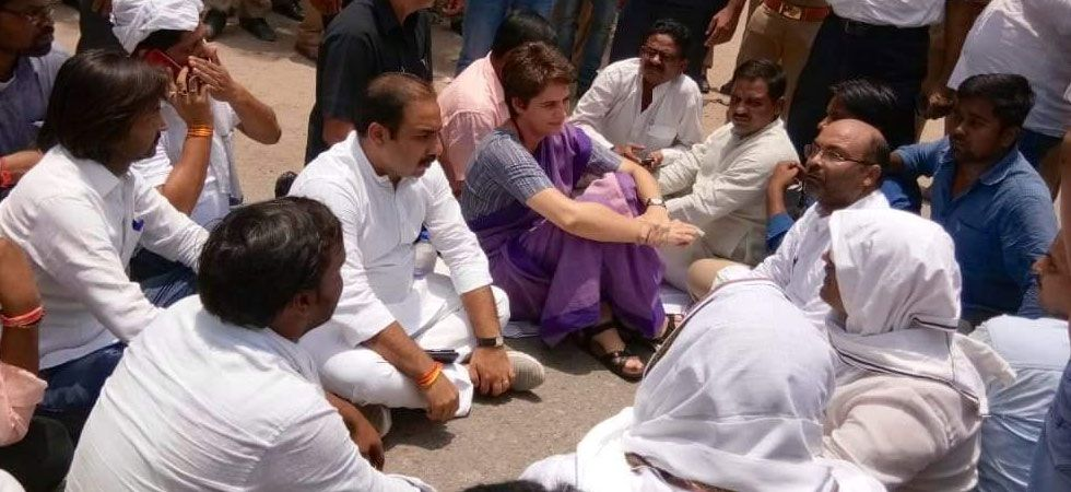 Priyanka has been insisting on meeting the families of the victims of Sonbhadra firing incident stressing that she was ready to go to jail for it.