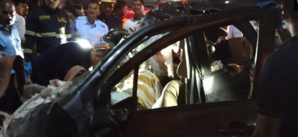 Those killed in the accident were returning from Raigarh and heading to their hometown Yavat, towards Solapur, police officer said. (Photo credit: ANI)