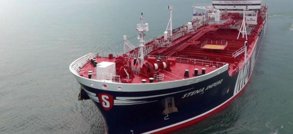British-flagged oil tanker seized by Iran (Representative Image Photo Credit: Twitter)
