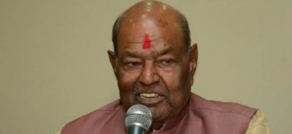 Former Delhi BJP president Mange Ram Garg  passes away (Photo Credit: Twitter)