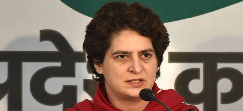 Priyanka Gandhi said the UP government has acted only after the Congress came out in strong support of the tribals.