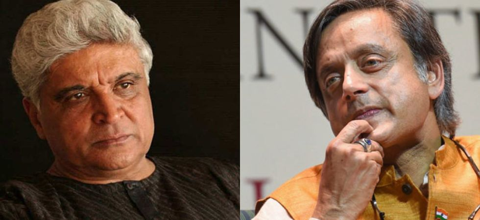 Javed Akhtar and Shashi Tharoor