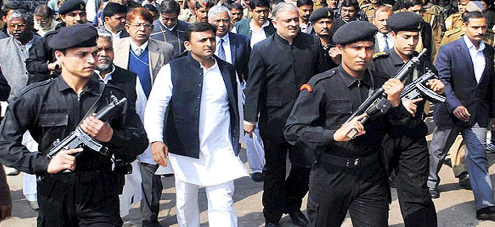 Akhilesh Yadav is currently being provided Z+ category 'black cat' commandos security cover. (File Photo)