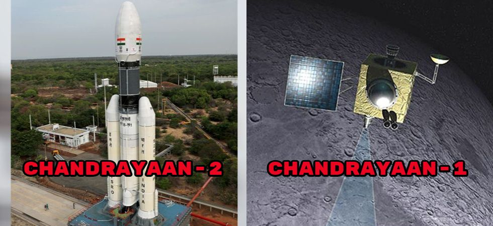 Chandrayaan-2 Vs Chandrayaan-1 (Photo Credit: NASA)