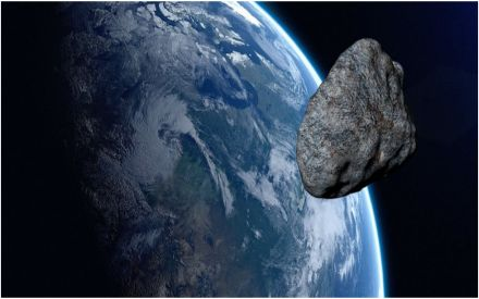 DANGER! A 390ft asteroid along with 2 giant space rocks may