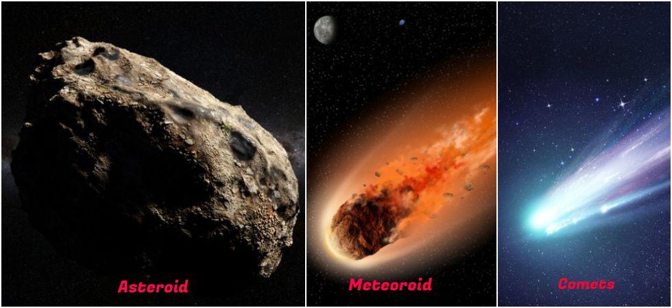 Asteroids Vs Meteoroids Vs Comet (Photo Credit: Twitter)
