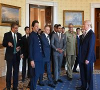 Kashmir can never be resolved bilaterally, Imran Khan welcomes Trump's 'mediation offer'