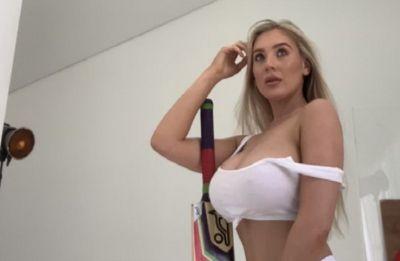 United Kingdom model emulates Poonam Pandey after England's World Cup glory