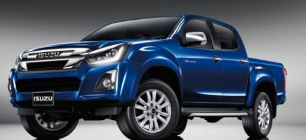 Isuzu Motors product portfolio in India includes D-Max V-Cross, Isuzu mu-X and Isuzu D-Max pick-ups. (Credit: Twitter)