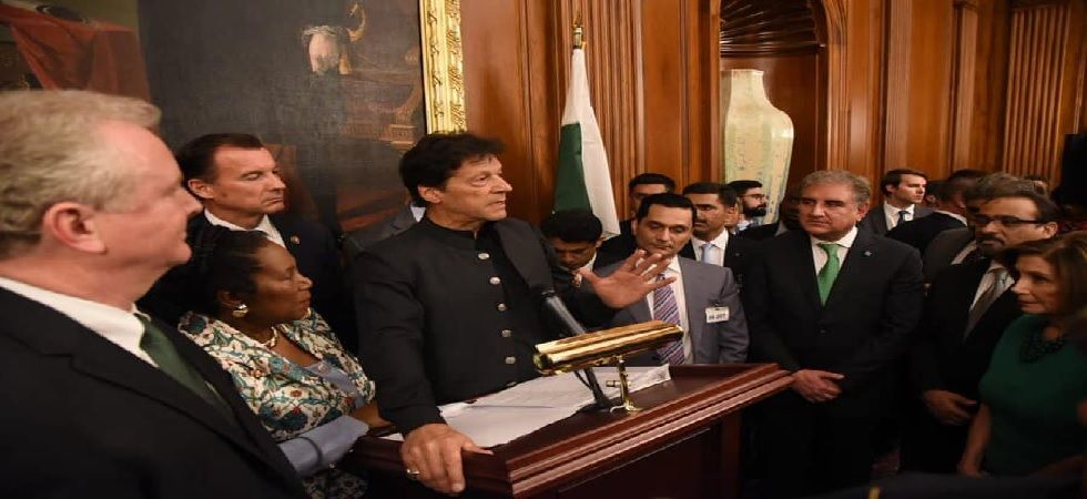 Imran Khan said that after coming to power, he first tried to reach out to India (Photo: Facebook@ImranKhan)