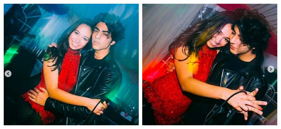 Aryan Khan poses with mystery girl (Photo: Instagram)