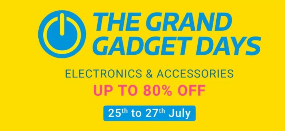 Flipkart Grand Gadget Sale (Photo Credit: Flipkart)