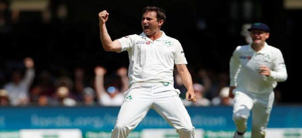 Tim Murtagh took his maiden five-wicket haul in Tests as Ireland dominated against England in the one-off Test in Lord's. (Image credit: Twitter)