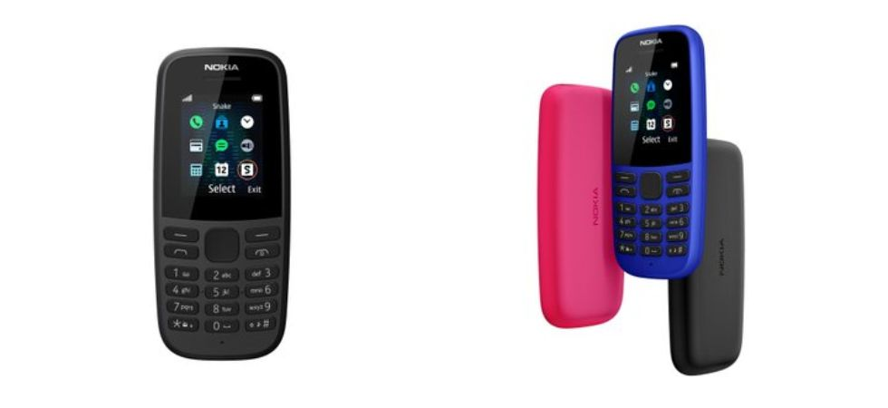 Nokia 220 4G, Nokia 105 (Photo Credit: Twitter/@jmcomms)