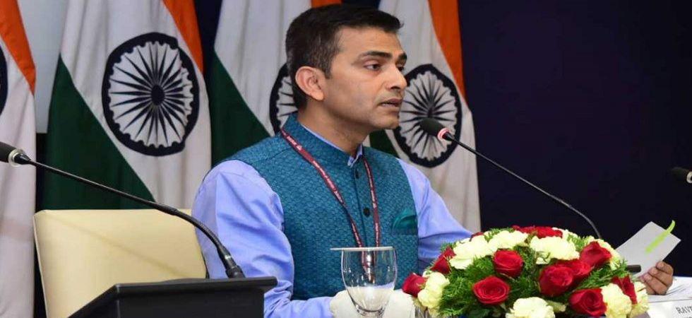 Ministry of External Affairs Spokesperson Raveesh Kumar (File Photo)