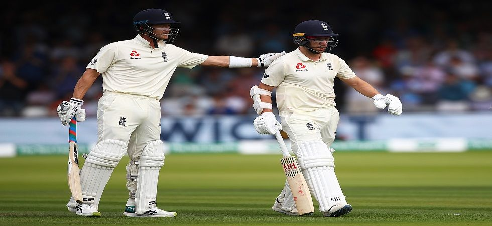 Jack Leach missed out on a chance to score a century as a No.11 nightwatchman as the England vs Ireland Test was evenly poised at Lord's. (Image credit: Getty Images)