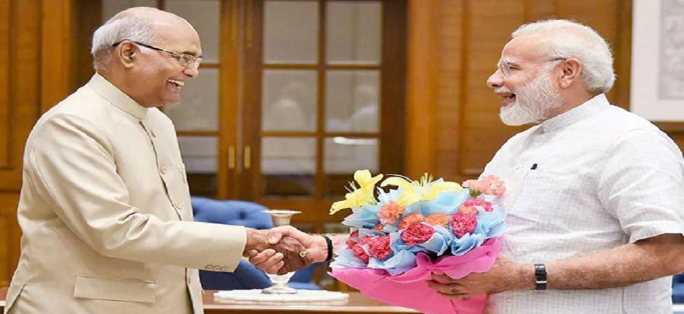 File photo of President Kovind and PM Modi.