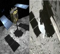 Watch Japan's Hayabusa2 touch down on Asteroid Ryugu in THIS incredible video