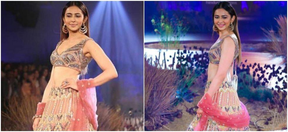 Rakul Preet Singh turns bride for Reynu Tandon at India Couture Week 2019. (Image: Instagram)