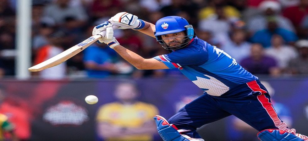 Yuvraj Singh played a superb knock to help Toronto Nationals win their game against Edmonton Royals in the Global T20 League in Canada. (Image credit: Twitter)