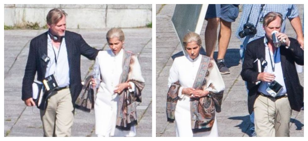 Dimple Kapadia's on-set look for Nolan's 'Tenet' leaked (Photo: Twitter)