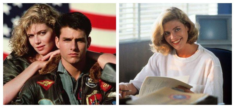 Kelly McGillis in 1986 Top Gun movie (Photo: Twitter)