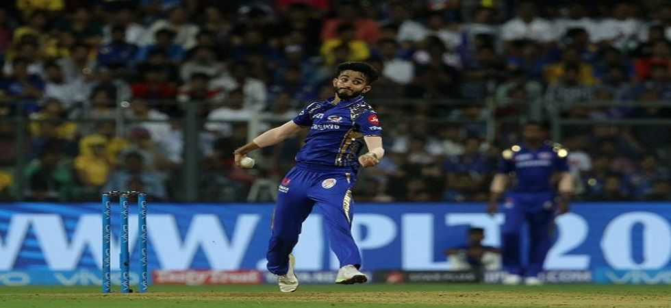 Mayank Markande will now play for the Delhi Capitals in the 2020 Indian Premier League after two seasons with Mumbai Indians. (Image credit: Twitter)