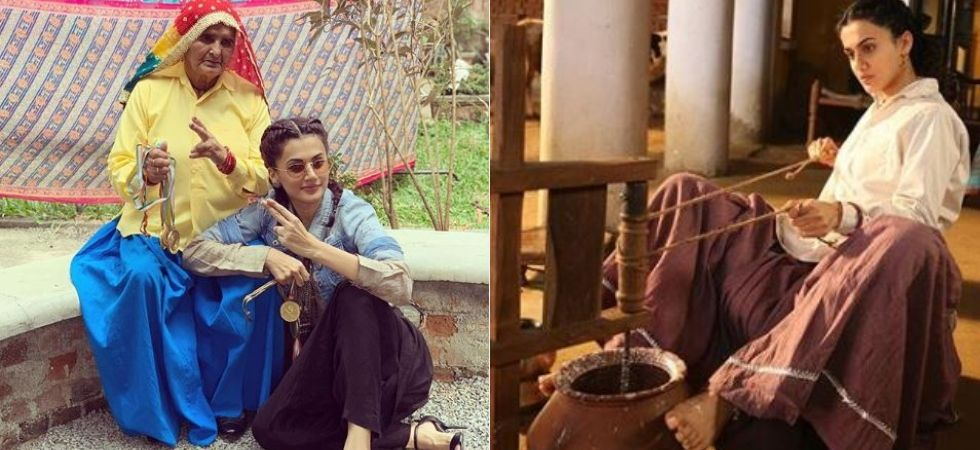 Taapsee lived with real life 'revolver dadis' before shooting 'Saand Ki Aankh'
